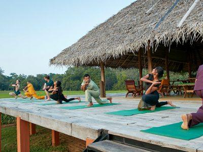 Yoga tours by Shanti Voyage